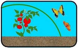 Укрывной материал защищает от насекомых-вредителей